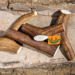 Staglers 100% Natural Deer Antler Dog Chew - Large pet treats and chews big breeds