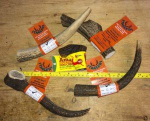 staglers deer antler dog chews are long