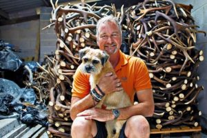 Staglers deer antler dog chew owner John guarantees fast service