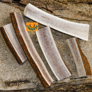Staglers 100% Natural Deer Antler Lazy Dog Chew -natural healthy teeth cleaning pet treat